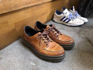 玄関に置く靴